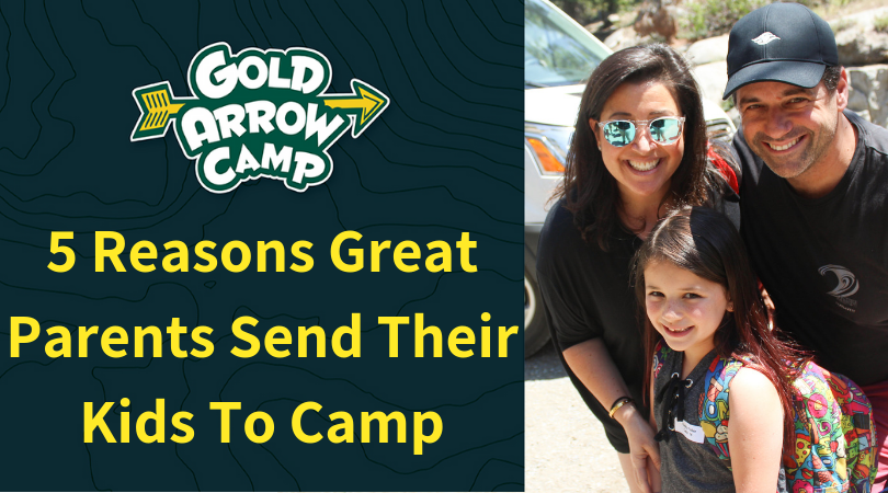 Five Reasons Great Parents Send Their Kids To Camp