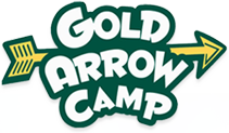 GOLD ARROW CAMP FOOTER LOGO