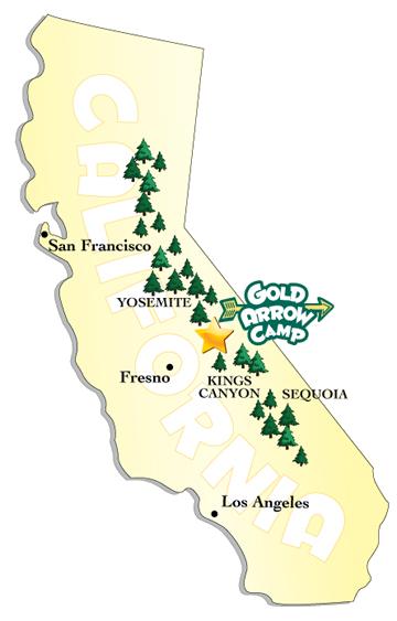 Gold Arrow Location