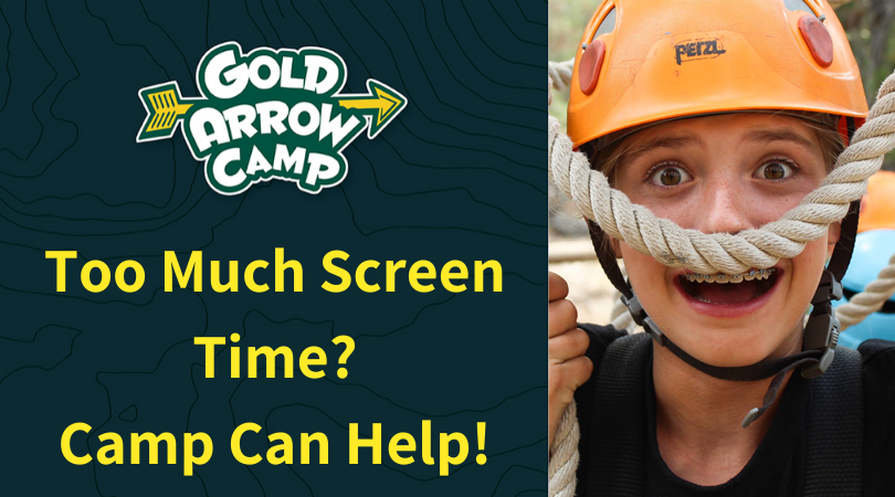 Too Much Screen Time? Camp Can Help!