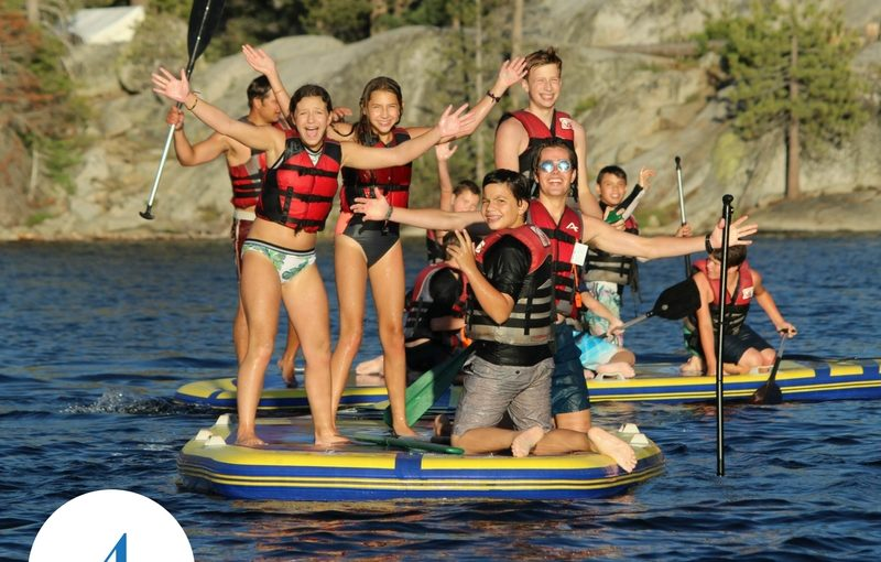 Gold Arrow Camp  Californias Premiere Outdoor Mountain  Lake  Too Much Screen Time Camp Can Help