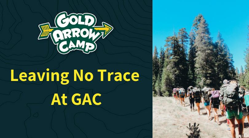 Leaving No Trace at GAC