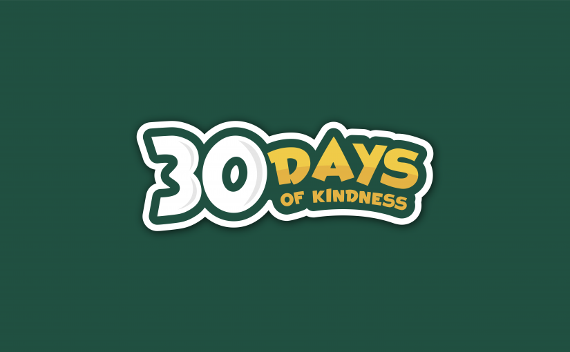 #GACkindness: 30 Days of Kindness