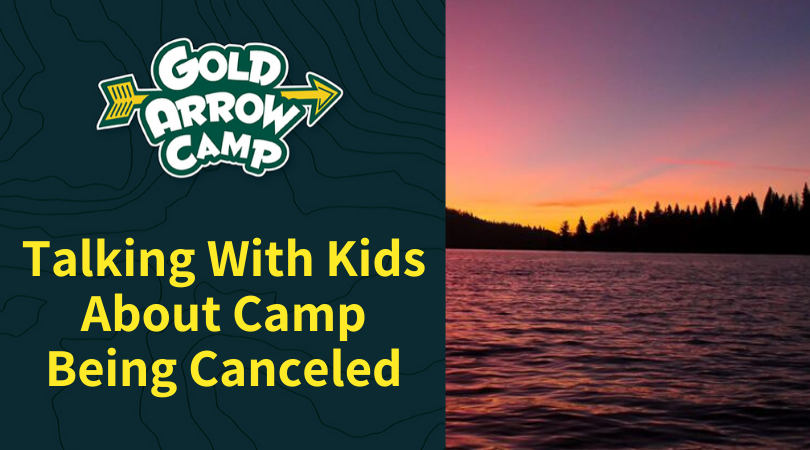 Talking With Kids About Camp Being Canceled