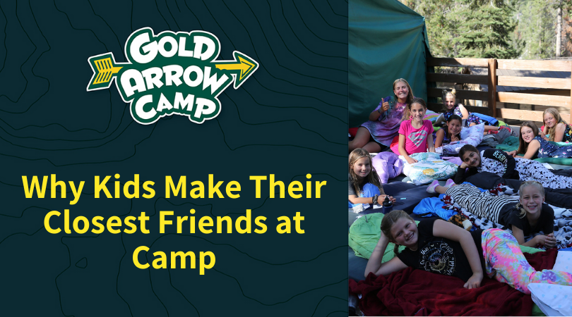 Why Kids Make Their Closest Friends at Camp
