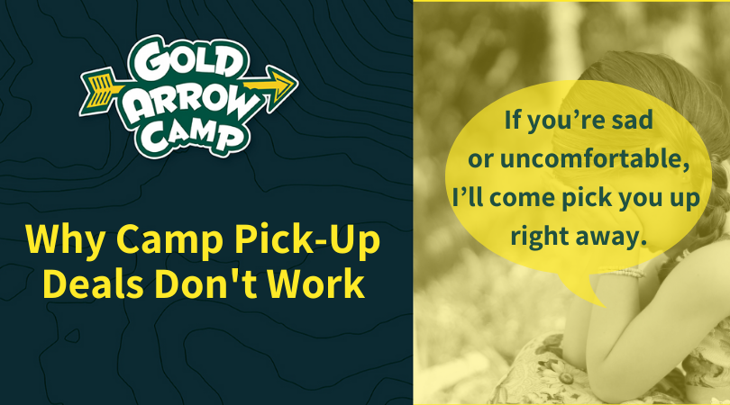 Why Camp Pick-Up Deals Don't Work