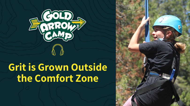 Grit is Grown Outside the Comfort Zone